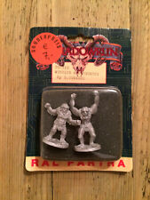 Ral Partha (Shadowrun) miniature: Wendigo & Sasquatch