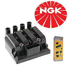 NGK Ignition Coil fits VOLKSWAGEN GOLF MK4 1J 2.0L 2.4L & 2.8L 01-07 U2011