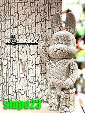 Medicom 400% Bearbrick ~ Tree Pattern White Wood R@bbrick Rabbrick
