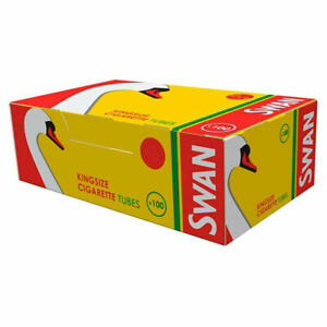 500 1000 1500 SWAN CIGARETTE TUBES KING SIZE MAKE YOUR OWN