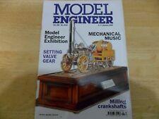 MODEL ENGINEER 4316 JAN 2008 MUSIC MUSEUM MILLING CRANKSHAFTS SETTING VALVE GEAR