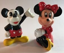 Disney Mickey Mouse Minnie Miniature PVC Figure Toy Cake Toppers