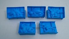Rose Art 3D Dinosaur Molds Play-Doh Modeling Clay Lot Of 5