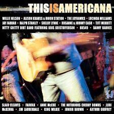 This Is Americana - Willie Nelson Lucinda Williams Jayhawks Johnny Cash CD