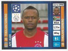 Panini 2013/14 Champions League #593 Thulani Serero   AFC Ajax