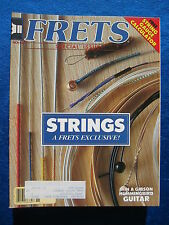 Frets Magazine November 1984 Special Strings Exclusive Issue