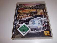 Playstation 3 ps3 Midnight Club: Los Angeles