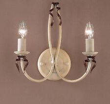 3652 IB-Wall Sconce, Cream/Ivory, Made In Italy,
