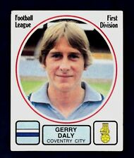 PANINI FOOTBALL 82 #072-COVENTRY CITY-GERRY DALY