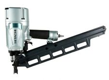 "Hitachi NR83A5 3-1/4"" Plastic Collated 21deg Pneumatic Framing Nailer with Depth"