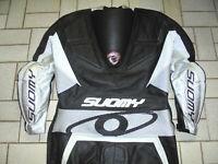 SUOMY Motorradkombi Kangaroo Lederkombi 1-Teiler Motorrad racing Anzug 56 L