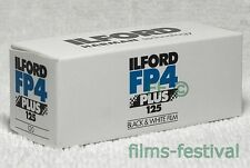 5 rolls ILFORD FP4 125 Plus 120 Film black & white B&W