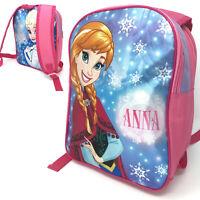 Frozen II Anna Elsa Reversibile Scuola Zaino Bagaglio Porta Interruttore Borsa