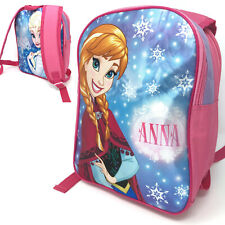 Frozen II Anna Elsa Reversible School Backpack Rucksack Luggage Carry Switch Bag