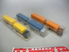 AI79-0,5# 3x Wiking H0 Lastzug/LKW MAN: 421 Pieper + 470 + 473 Steinle, NEUW+OVP