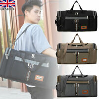 Men's EXTRA LARGE Sports Gym Duffle Holdall Bag Travel Work Barrel Training Bag