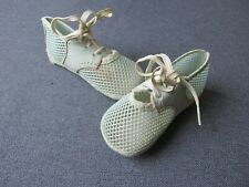 Vintage cute color summer baby shoes Mrs Day's Ideal Size 1 Great for dolls