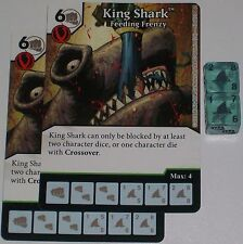 2 x KING SHARK: FEEDING FRENZY 65 Green Arrow and The Flash Dice Masters