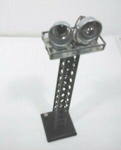 Louis Marx 0 Signal, Flood Light Tower Crossing Light Signal