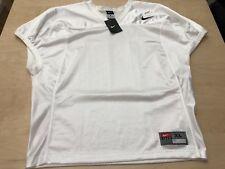 NWTG Nike Velocity 2.0 Practice Men's Football Jersey Shirt White 659179 XL