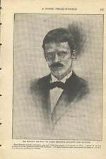1921 Knut Hamsun Hunger Pan Norwegian Author Nobel Prize Illustrated old article