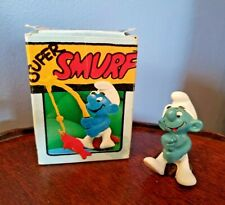 Smurfs Angler Smurf with Fish! NIB 40207