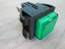 """BUNN"" OEM PART#28296.0000 GREEN LIGHTED MOMENTARY PUSH BUTTON SWITCH FOR BREWER"