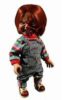 Child's Play3 Pizza Face Chucky Mega-Scale Figure with Sounds Mezco Toys...