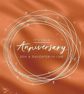 "Hallmark Anniversary Card "" Son And Daughter-in-law """