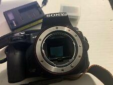 Sony Alpha SLT-A35 16.2MP Digital SLR Camera - Black (No AutoFocus)