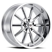 Rev Old school muscle wheels 18x8 18x9 chrome Chevy Holden HQ HX HJ WB 5/120.65