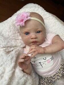 Ooak Reborn newborn baby Girl  reborn baby Lulu   Art doll