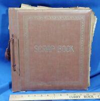 RARE 1960s Scrapbook BEATLES JFK Assassination Space Age NASA Moon VTG British