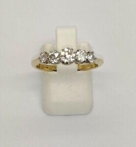 18ct 5 Stone Diamond Ring