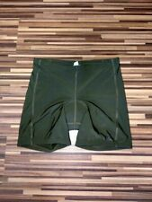 Men's Gore Bike Wear Dark Swamp Green Stretch Cycling Shorts Size 42