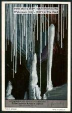 Engihoul Speleology Belgian Caves Caving Exploring 1930s Trade Ad Card