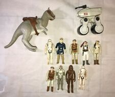 Vintage 1980 Kenner Star Wars Empire Taun Taun Hoth Han Luke playset lot figures