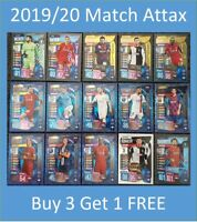 2019/20 Match Attax UEFA - Shiny Special Cards and Team Sets - Buy 3 Get 1 FREE