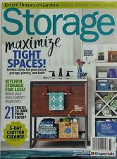 Better Homes & Gardens Storage Summer 2017 Maximize Tight Space FREE SHIPPING sb
