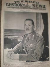 Photo article Portrait General Sir Harold Alexander 1942 ref Aq