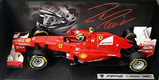 Ferrari F2012 F1 #6 Felippe Massa 1:18 Hot Wheels X5521