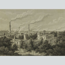 Berlin: Das Borsig'sche Etablissement zu Moabit 1854.