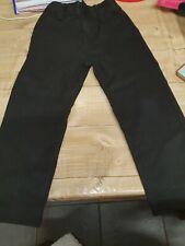 Boys black school trousers age 4 yrs by NEXT