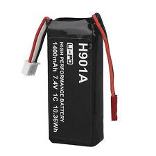 1400mAh 7.4V Lipo Battery For Transmitter Hubsan H107D+/H502S/H501S RC Drone