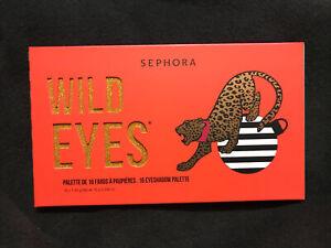 NEW & Sealed - SEPHORA Wild Eyes 16 Eyeshadow Palette - Limited Edition