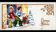 ENFANTS & CADEAUX de BONNE ANNEE... illustrée par GOUGEON