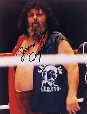 Captain Lou Albano Autographed Signed 8x10 Photo  w/COA - WWE WWF Hall Of Fame
