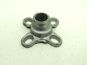 """(4-Pack) Thomas & Betts No16 Hickey Fixture Stud 3/8"""" Male Thread Malleable Iron"""