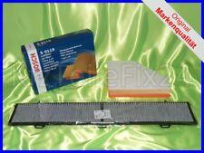 BOSCH BMW 1er E81 E82 E87 E88 Innenraumfilter Pollenfilter Luftfilter Filter Set