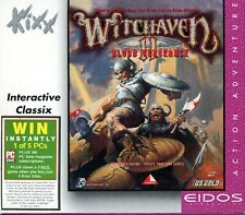 Witchaven II Blood Vengeance - Brand New in Jewel Case - PC First Person Action